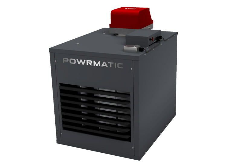 Air Plants Heating & Cooling (graphic of powrmatic machine)
