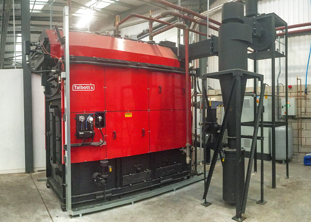Air Plants Heating & Cooling (image of Talbott's machinery)