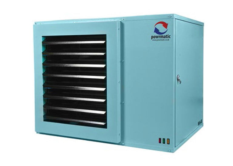 Air Plants Heating & Cooling (image of powrmatic machine)