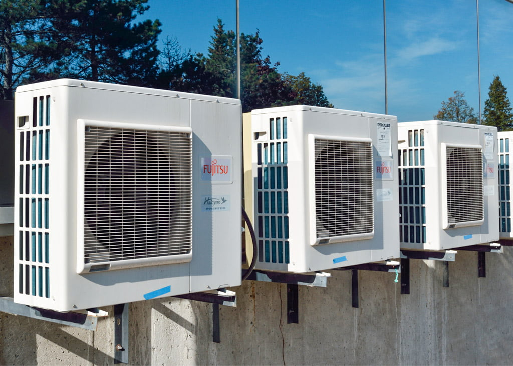 Air Plants Heating & Cooling (images of Fujitsu vents)